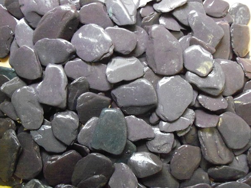 Blue Slate Paddlestones	 20-70mm
